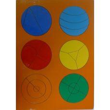 Сложи круг 2 (рамки и вкладыши)