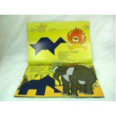 Разноцветный мир (альбом к деревянным кубикам Сложи узор, 4-7 года)