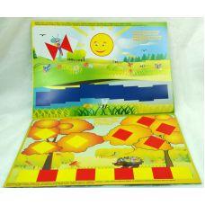Разноцветный мир (альбом к деревянным кубикам Сложи узор, 1,5-3 года)