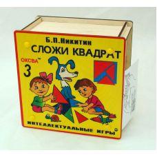 Сложи квадрат 3 (элит, в деревянной коробке)