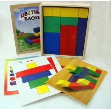 Цветные блоки (логическая игра)