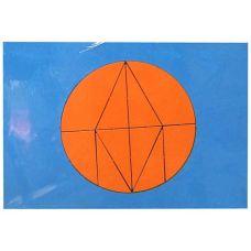 Волшебный круг А5 (мировые головоломки, дерево)