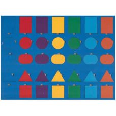 Радуга (геометрические фигуры, рамки и вкладыши)
