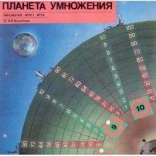 Планета умножения (таблица умножения учится через игру)