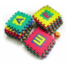 Коврики Алфавит 28*28 (33 буквы, вспененный полимер), 410