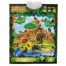 Веселый зоопарк. Знаток Электронный звуковой плакат