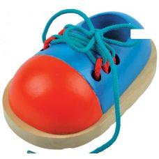 Ботинок (деревянная шнуровка объемная)