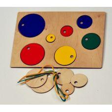 Бусинки (развивающие игры Тепляковой О.Н. для детей от 6 месяцев)