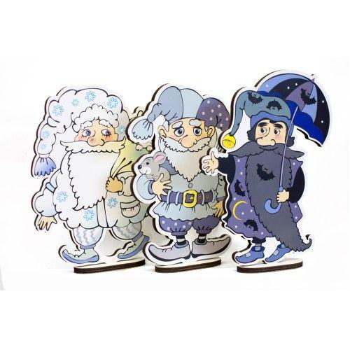 Гномы (3 персонажа сказки, большие)