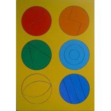 Сложи круг 1 (рамки и вкладыши)