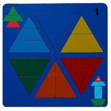 Сложи треугольник № 1
