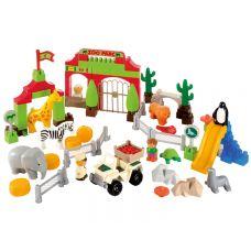 Зоопарк (конструктор пластиковый, 98 пр)