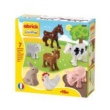 Набор животных Ферма (конструктор пластиковый, 7 пр)