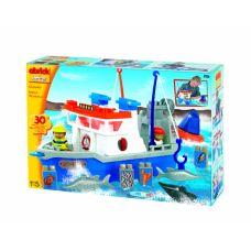 Рыболовецкое судно (конструктор пластиковый, 30 пр)