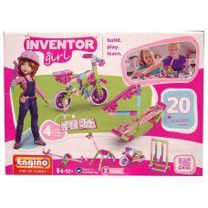 Конструктор Engino INVENTOR GIRLS. Набор из 20 моделей