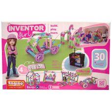 Конструктор Engino INVENTOR GIRLS. Набор из 30 моделей с мотором