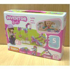 Конструктор Engino INVENTOR GIRLS. Набор из 5 моделей
