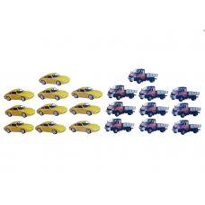 Автомобили (Набор магнитных карточек для устного счета)